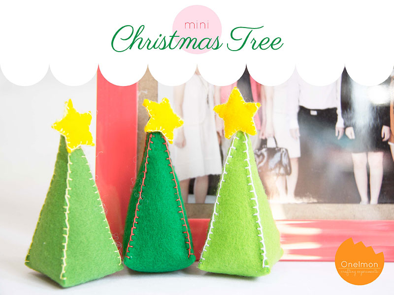 DIY Tutorial: Mini Christmas Tree | @onelmon