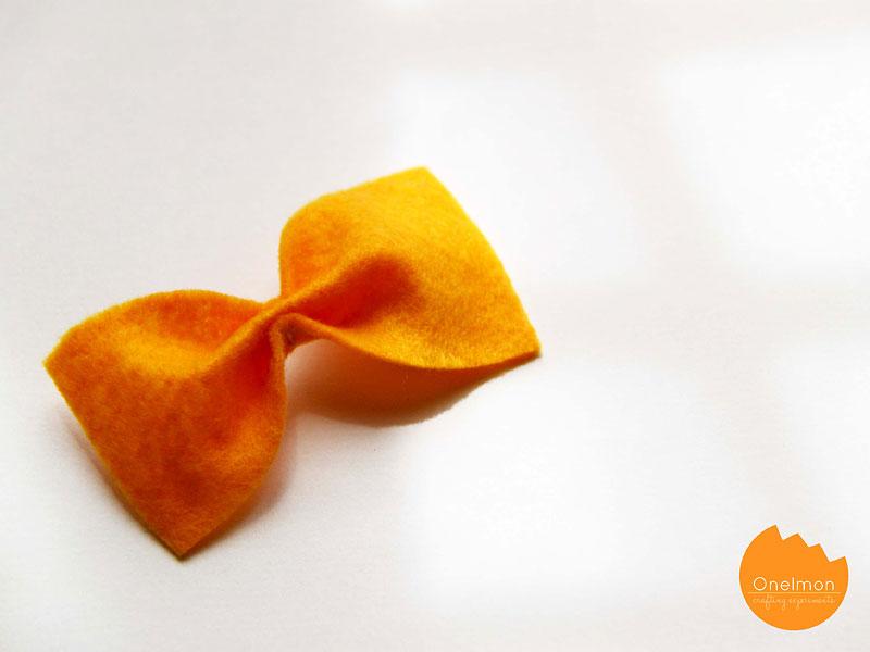 DIY Tutorial: Double Bow Clip | @onelmon