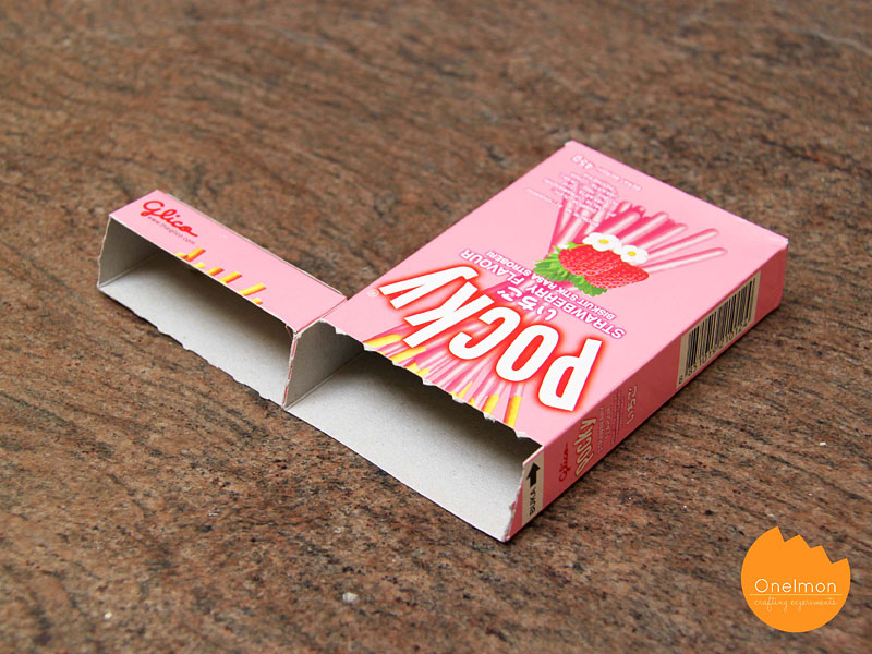 DIY Tutorial: Pocky Memo Box | @onelmon