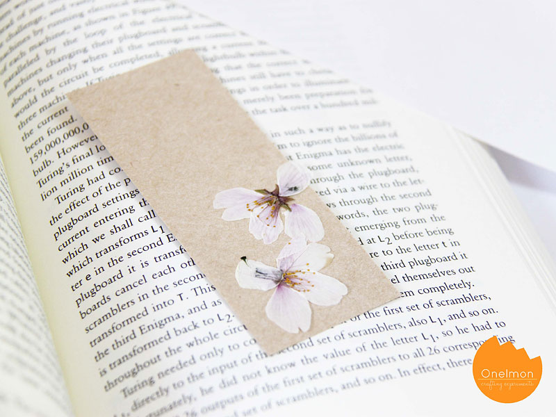 DIY Tutorial: Pressed Flowers | @onelmon