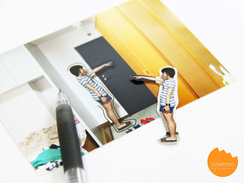 DIY Tutorial: Human Bookmark | @onelmon