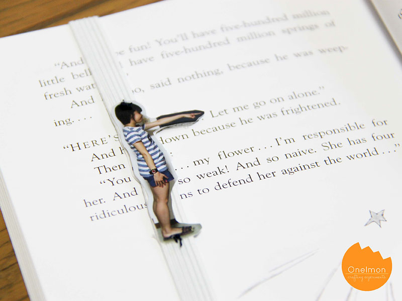 DIY Tutorial: Human Bookmark | @onelmon