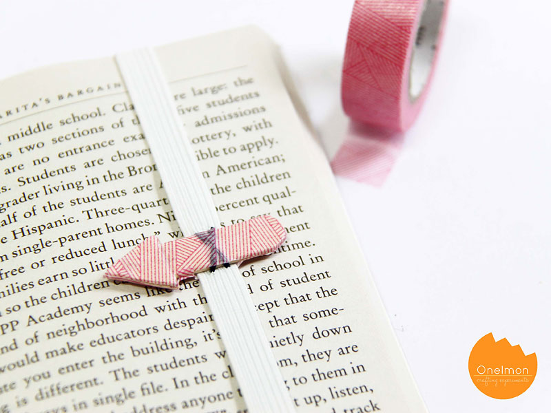 DIY Tutorial: Ice cream Stick Arrow Bookmark | @onelmon