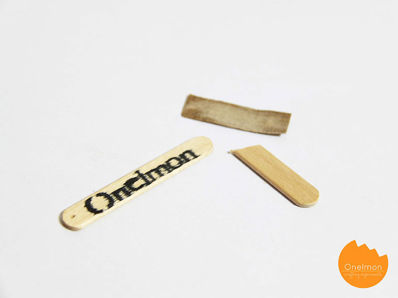 DIY Tutorial: Ice Cream Stick Key Holder | @onelmon