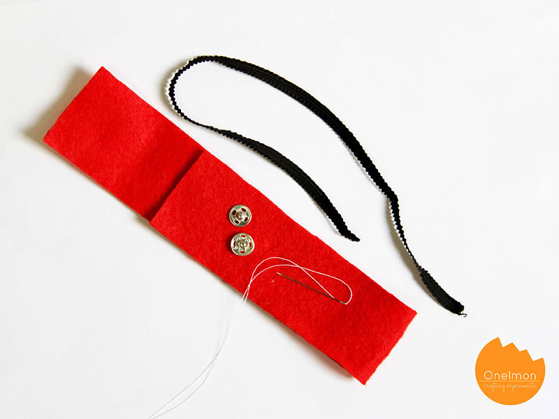 DIY Tutorial: Pencil Case Bookmark | @onelmon