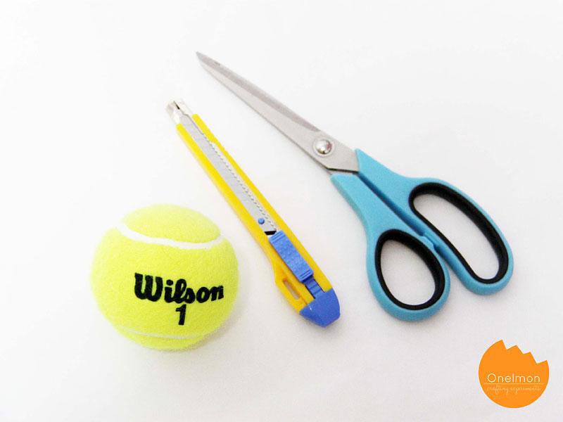 DIY Tutorial: Tennis Ball - Mike Wazowski | @onelmon