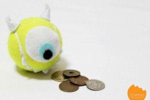 Tennis Ball – Mike Wazowski