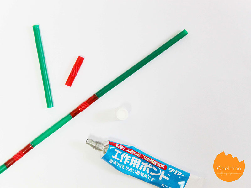 DIY Tutorial: Drinking Straw Frame | @onelmon