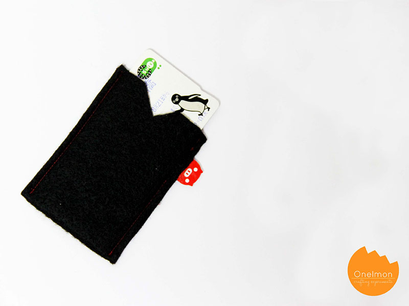 DIY Tutorial: Clip-on Card Holder | @onelmon