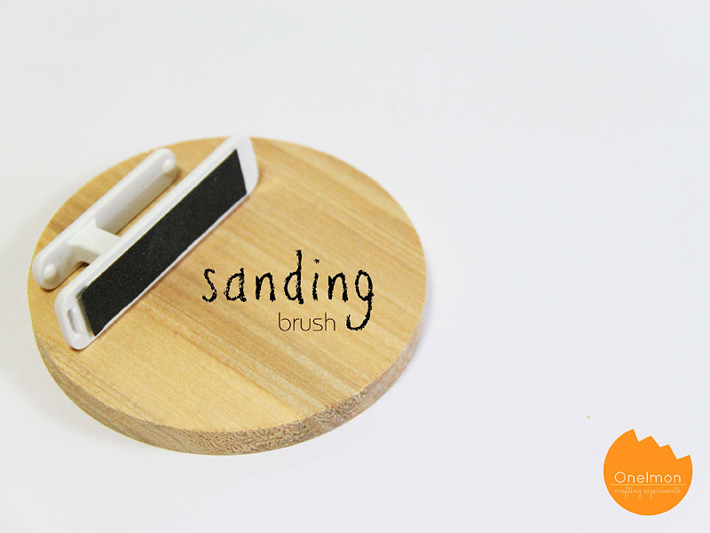 DIY Tutorial: Sanding Brush | @onelmon