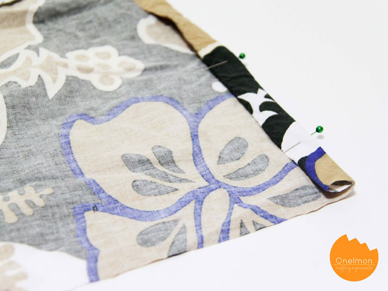 DIY Tutorial: Shorts Drawstring Bag | @onelmon