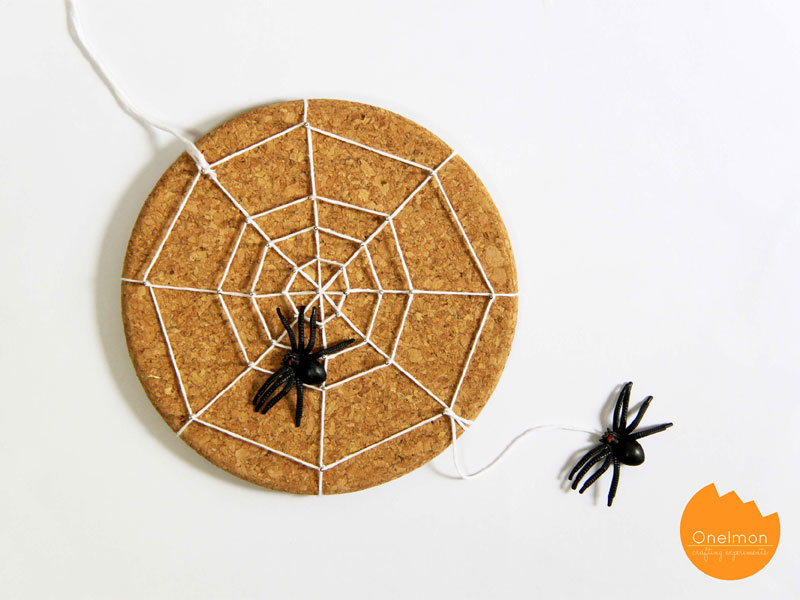 DIY Tutorial: String Art Spider Web | @onelmon