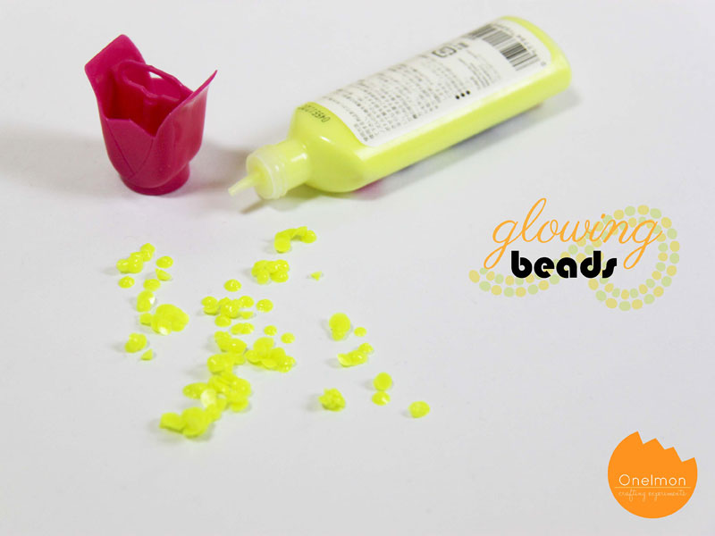 DIY Tutorial: Glowing Beads | @onelmon