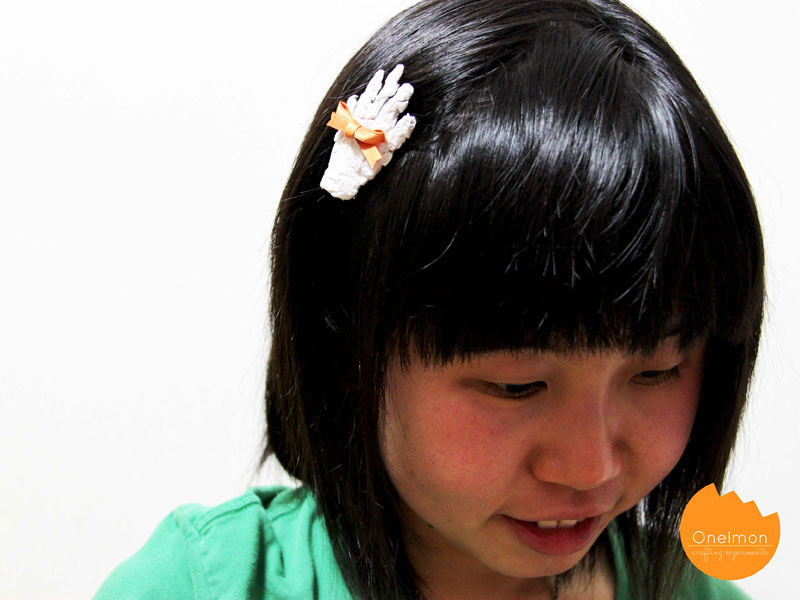 DIY Tutorial: Mummy's Hand Hairpin | @onelmon