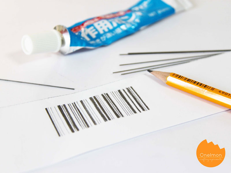 DIY Tutorial: Carbon Barcode | @onelmon