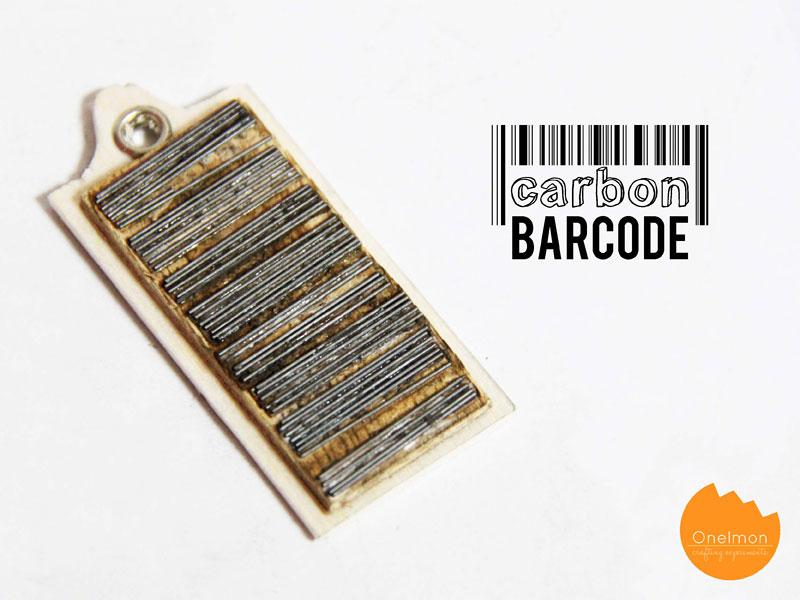 DIY Tutorial: Carbon Barcode | @onelmon