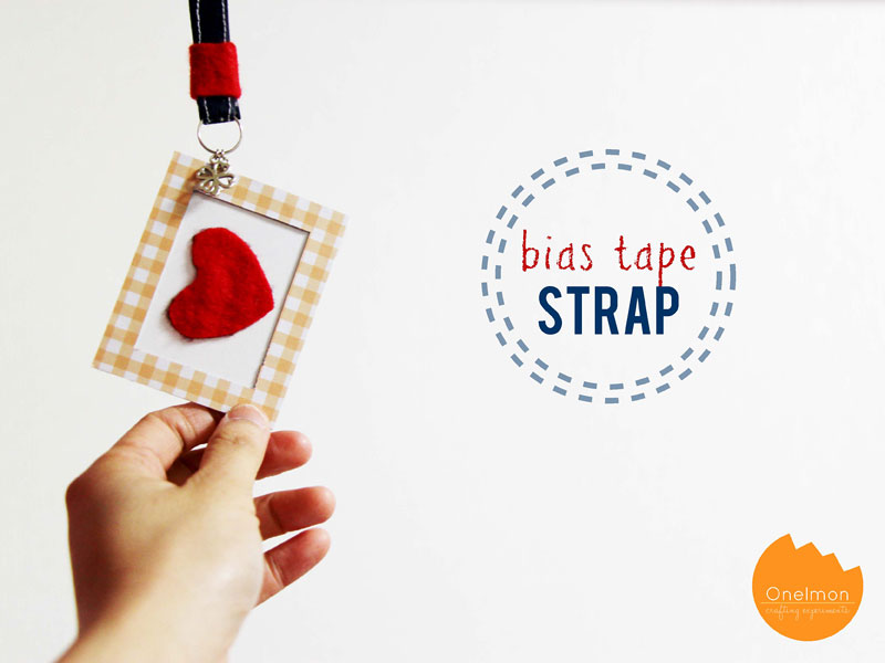 DIY Tutorial: Bias Tape Strap | @onelmon