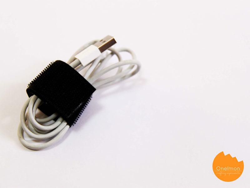 Diy Tutorial Hook Amp Loop Organizer Onelmon