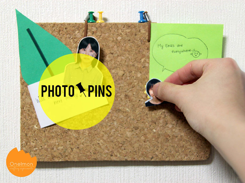 DIY Tutorial: Photo Pins | @onelmon