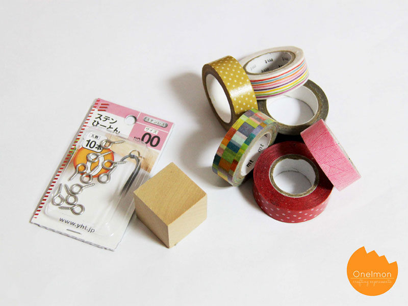 DIY Tutorial: Washi Rubik | @onelmon